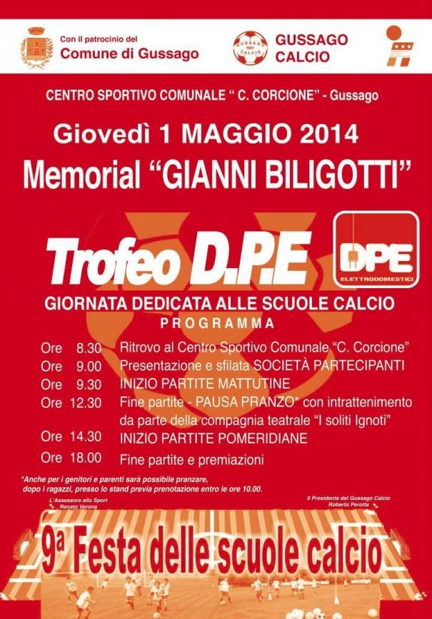 Trofeo DPE Gussago Calcio 2014