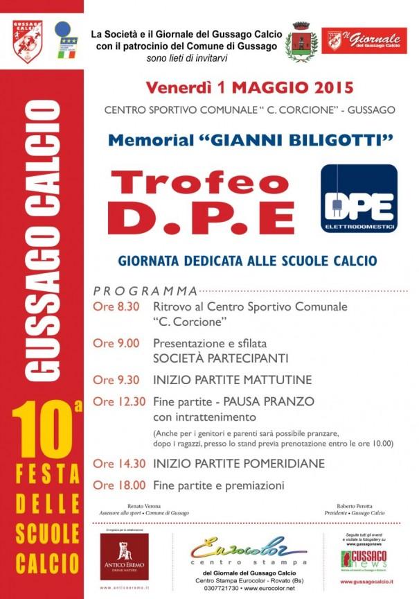 Trofeo DPE Gussago Calcio 2015