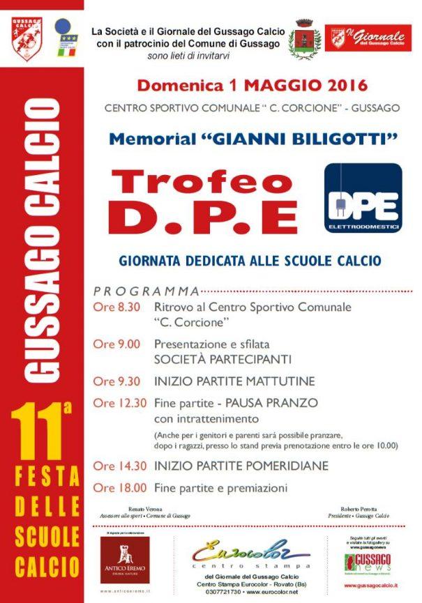 Festa Scuole calcio - Trofeo DPE 2016
