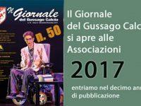 Banner Giornale Gussago Calcio numero 50 novembre/dicembre 2017