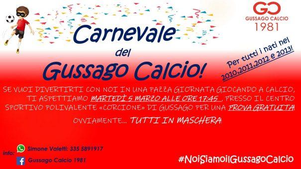 Carnevale Gussago calcio marzo 2019