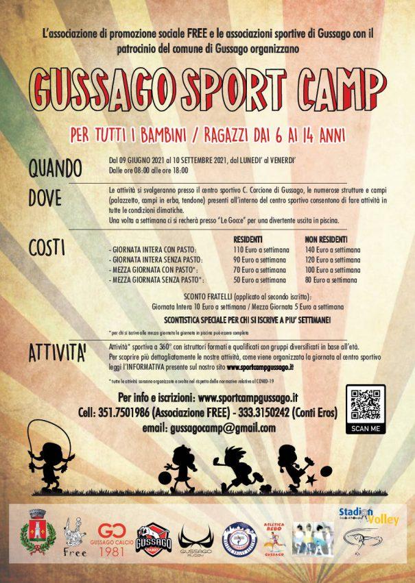 Gussago Sport Camp 2021